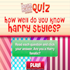 Quiz- Do You Know Harry Styles?